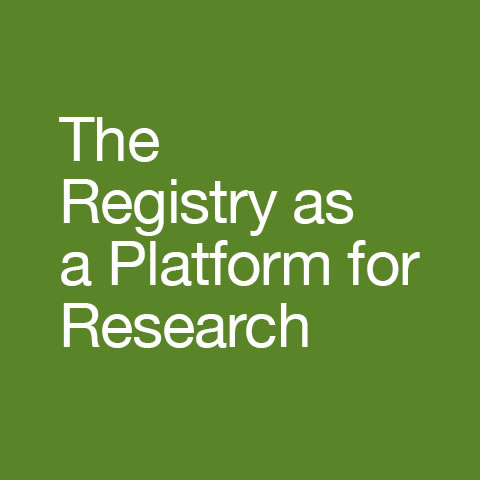 The Registry as a Platform for Research