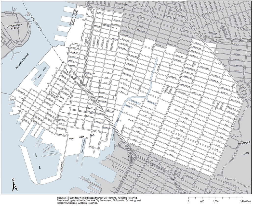Maps Brooklyn Community Board - New york city map drawing