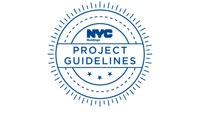 Nyc department of buildings use our new project guidelines to help move your job along malvernweather Choice Image