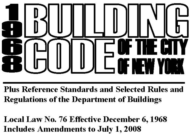 Buildings - Prior Codes
