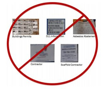 Buildings Construction Site Signage Requirements