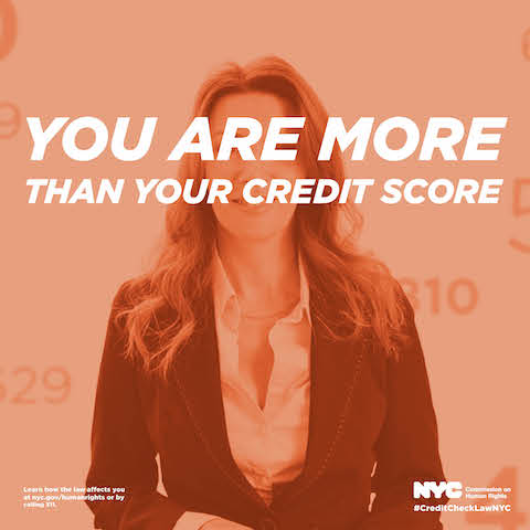On September 3, 2015, the Stop Credit Discrimination In Employment Act took effect, adding credit history as a protected class in employment.  The Act prohibits most employers from checking applicants' credit score to determine job worthiness.