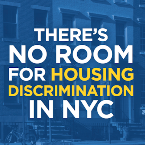 The New York City Human Rights Law includes strong protections against housing discrimination.  The Commission on Human Rights joined with the Department of Housing Preservation and Development for a Fair Housing campaign to educate and inform all New Yorkers on their rights and responsibilities pertaining to housing in New York City.