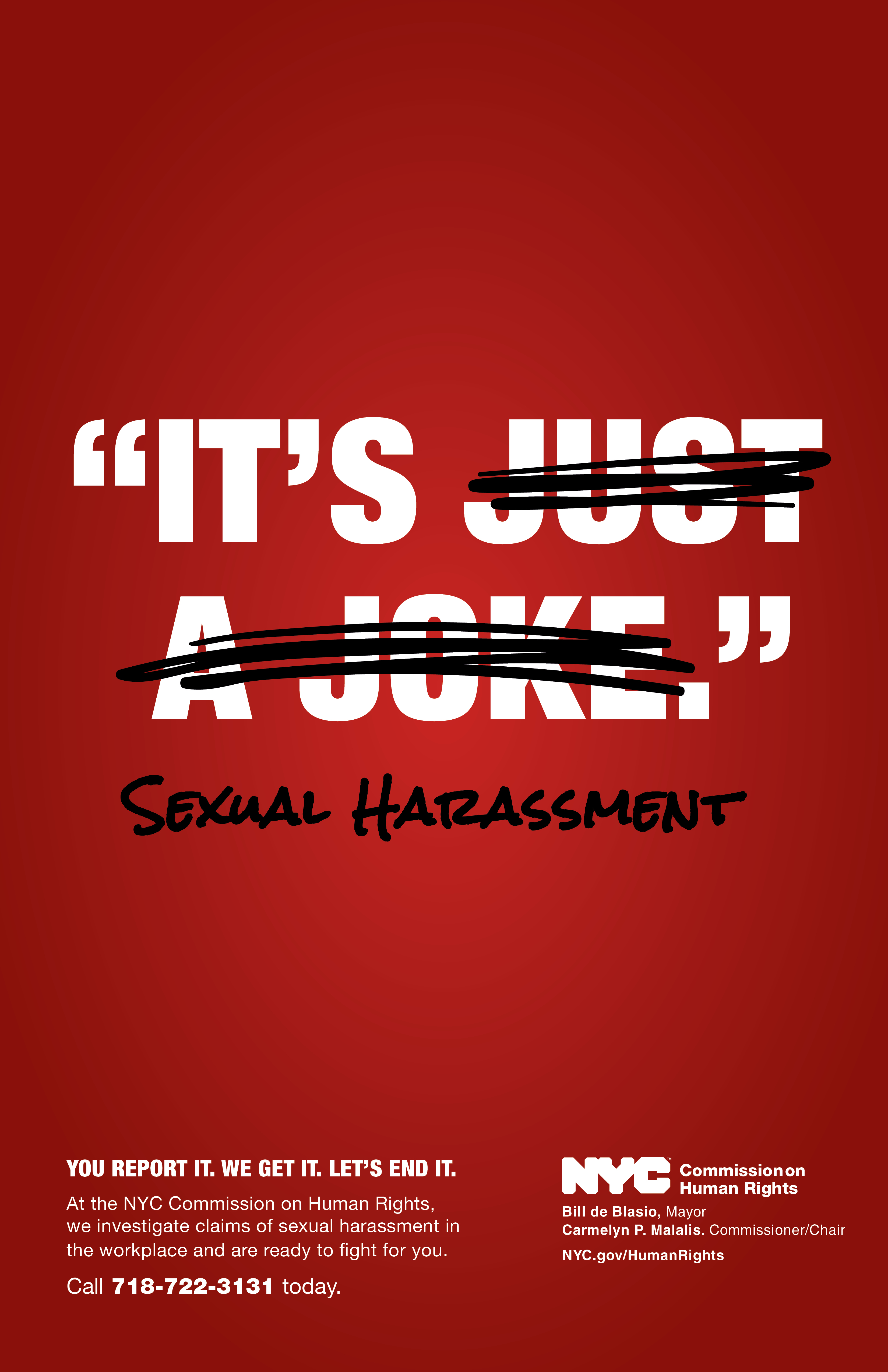Lets have sexual harassment