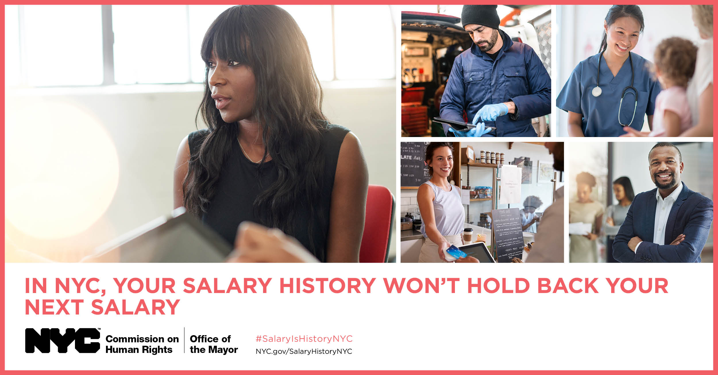 how to do a salary history