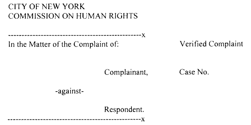 Sample Title 47 Complaint Format
