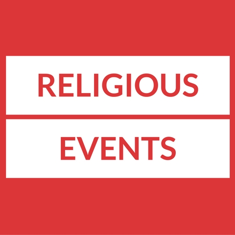 Text: Religious Events