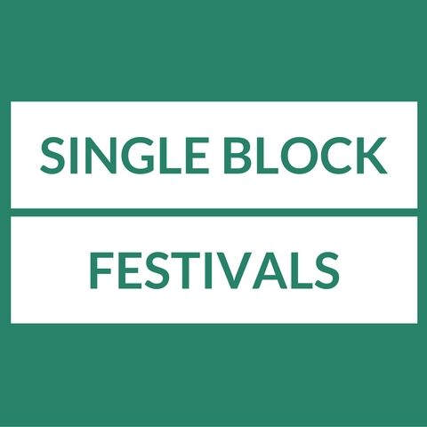 Single Block Festivals