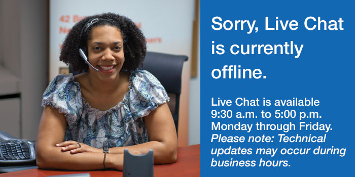 DCA Live Chat Offline