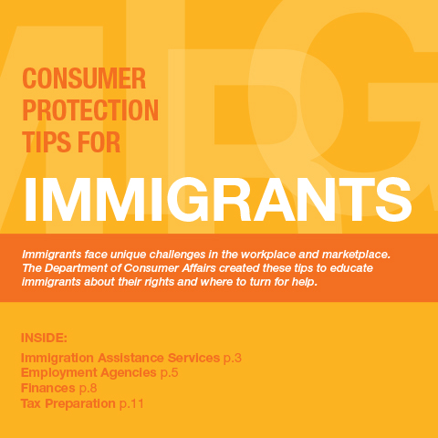 Consumer Protection Tips for Immigrants