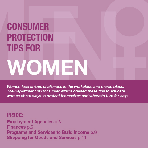 Consumer Protection Tips for Women