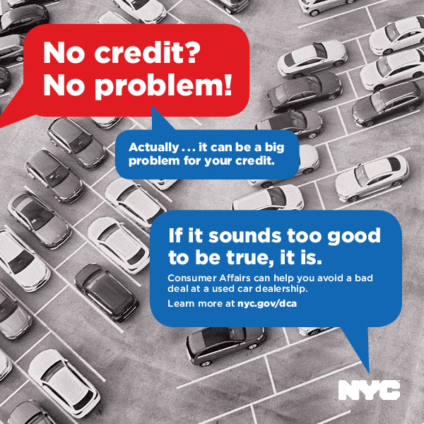 Campaign ad warning consumers about predatory lenders in used car industry