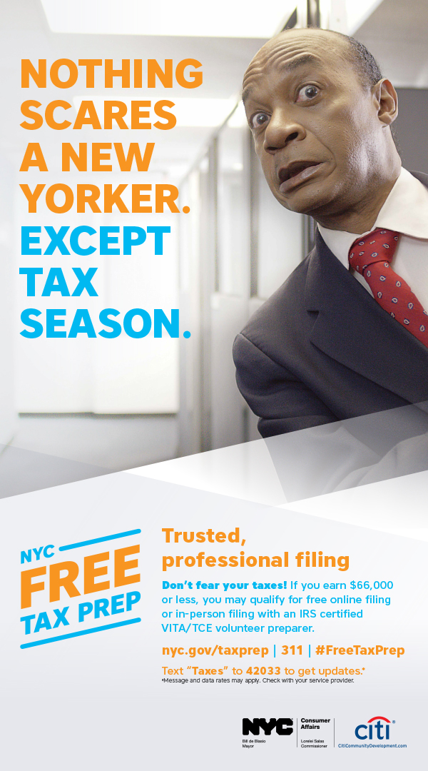 NYC Free Tax Prep - Trusted, Professional Filing