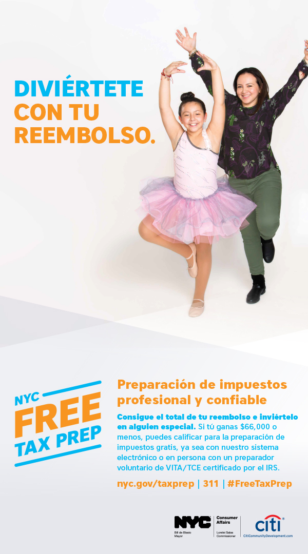 Tax Time Campaign Ad 2 in Spanish
