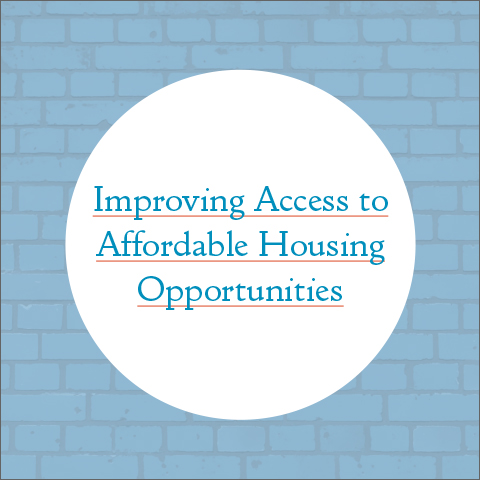 Improving Access to Affordable Housing Opportunities Report Cover