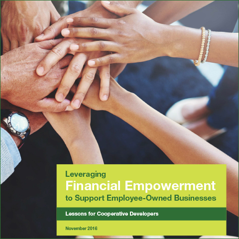 Leveraging Financial Empowerment Report Cover