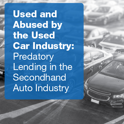 Used and Abused by the Used Car Industry report cover