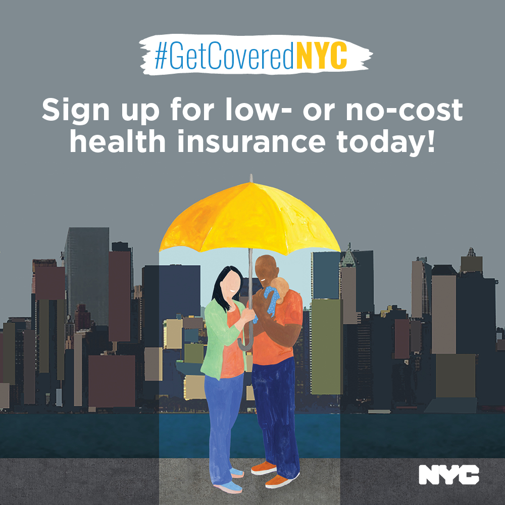 Go to GetCoveredNYC webpage to learn more