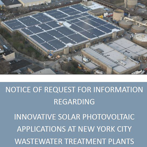 Innovative Solar at Wastewater Treatment Plants