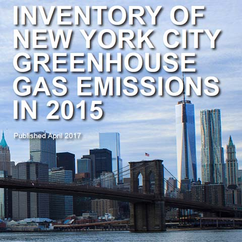 Annual Inventory of New York City Greenhouse Gas Emissions¸ 2017