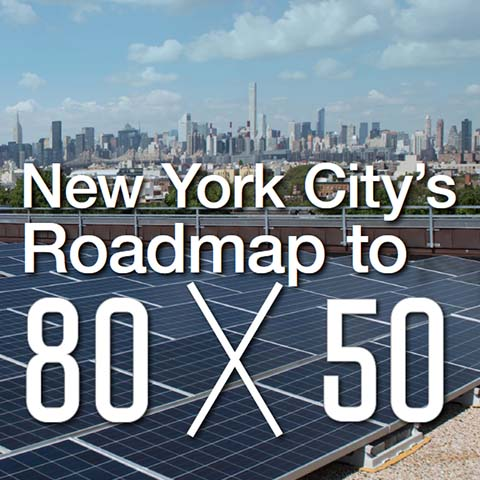 New York City's Roadmap to 80 x 50, 2016