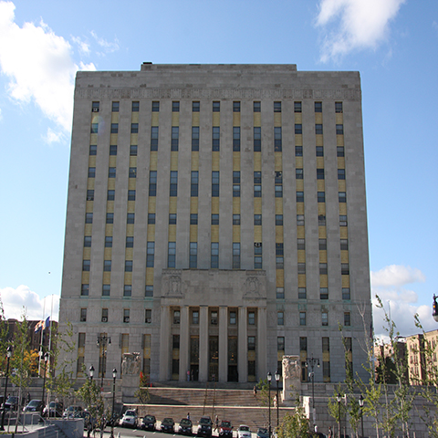 Mario Merola Building/County Courthouse, 851 Grand Concourse