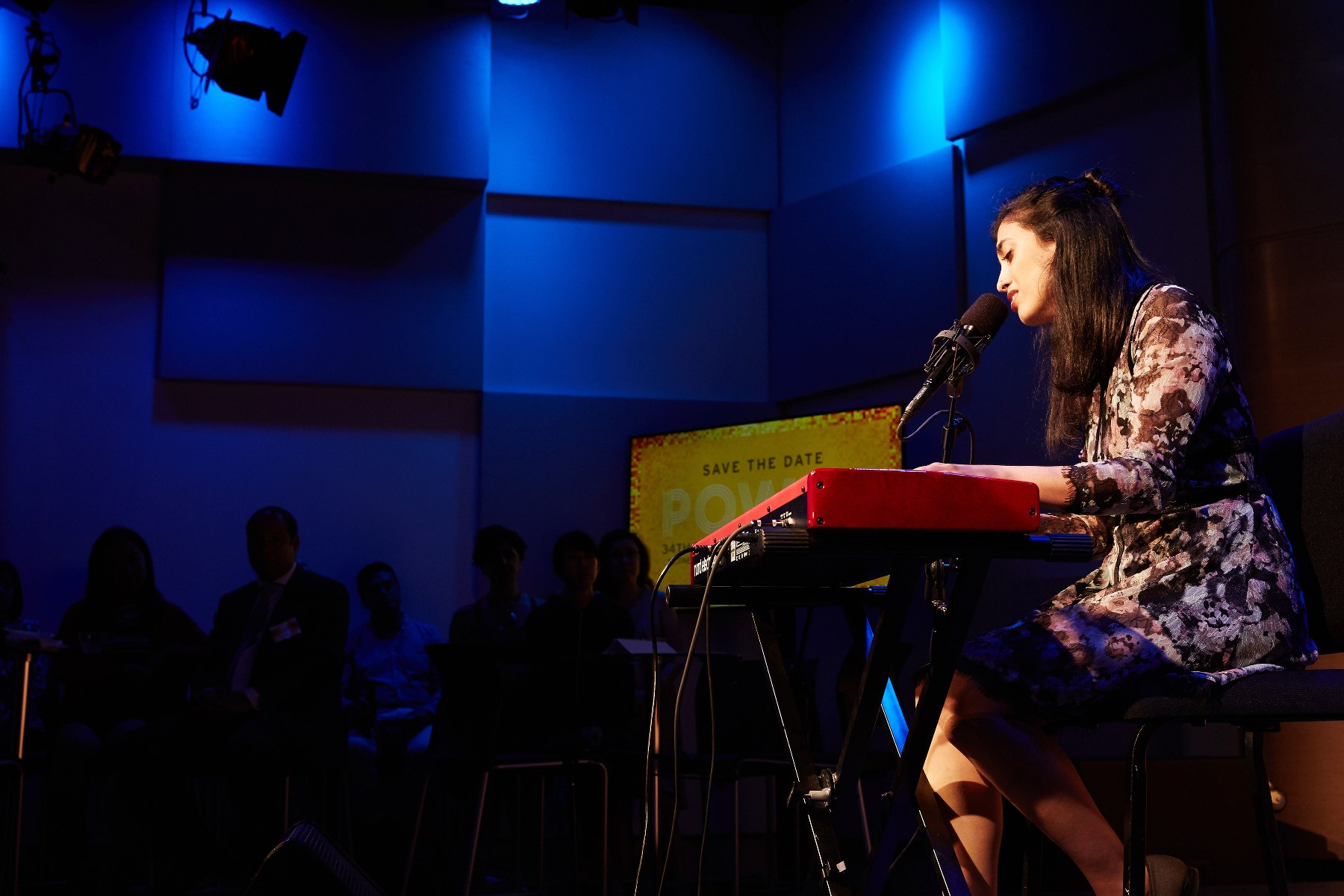 Performance by Ashni Dave, Asian American Arts Alliance Town Hall, June 2017, The Greene Space WNYC