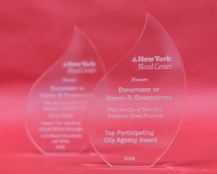 NYC Blood Center Award for NYCDDC