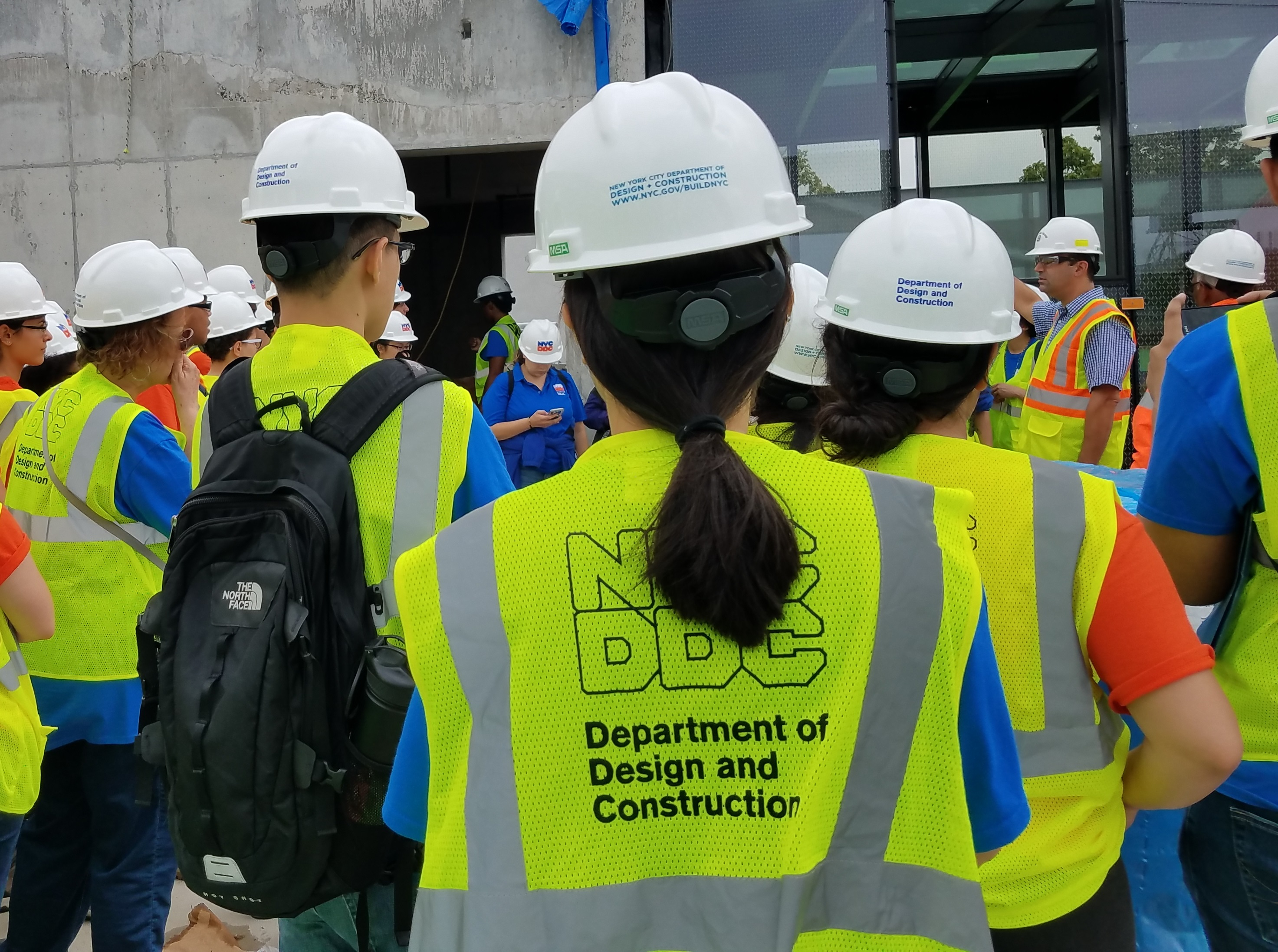 fifty  high school college  graduate students complete   summer internships  ddc