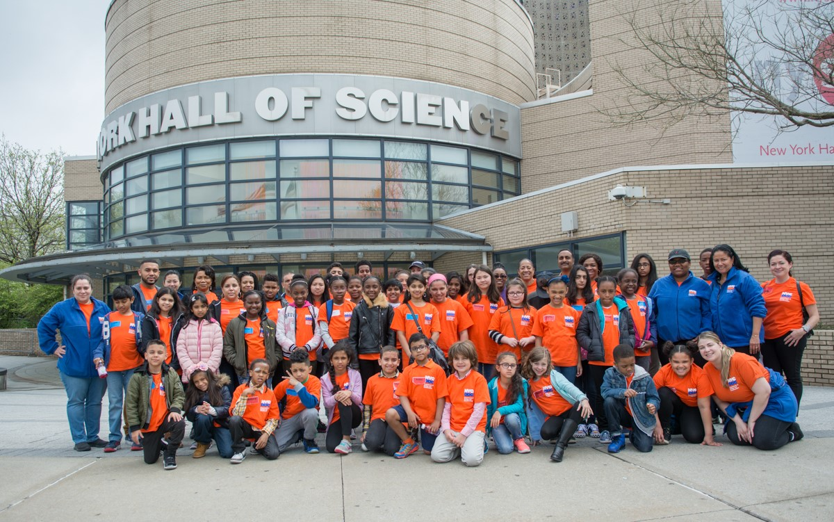 40 students attended DDC's 2017 Take Our Children to Work Day program at the New York Hall of Science in Queens