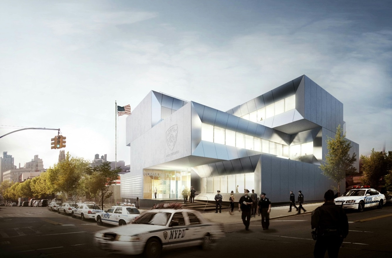 Rendering of the 40th Precinct in the South Bronx