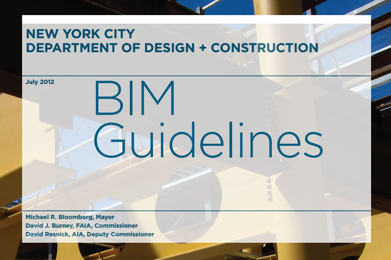 Cover for the BIM Guidelines.