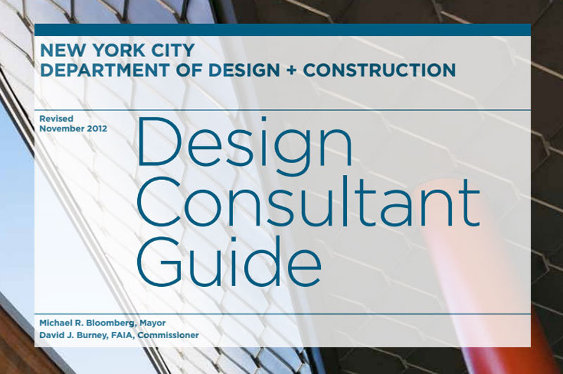 Cover for the 2013 Design Consultant Guide.