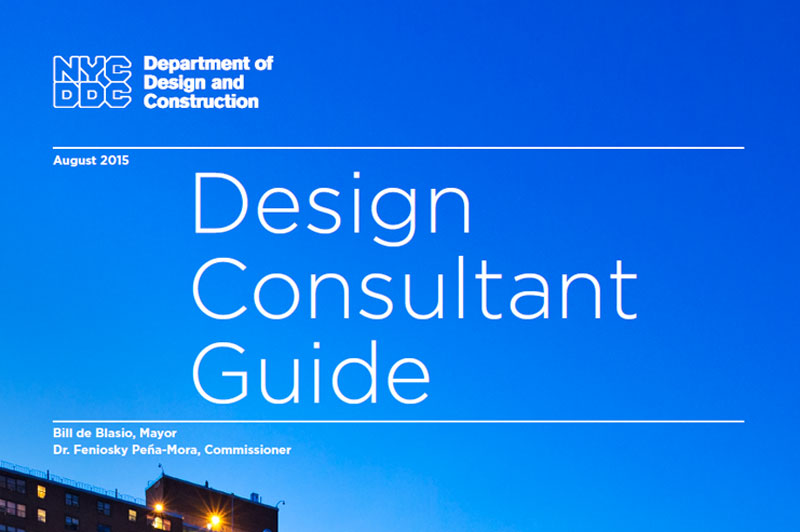 Cover of the Design Consultant Guide.