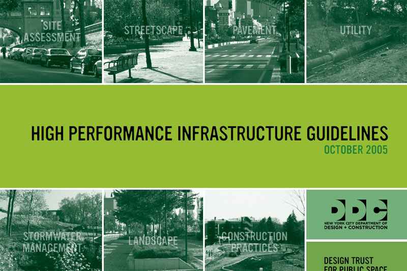 Cover for High Performance Infrastructure Guidelines.