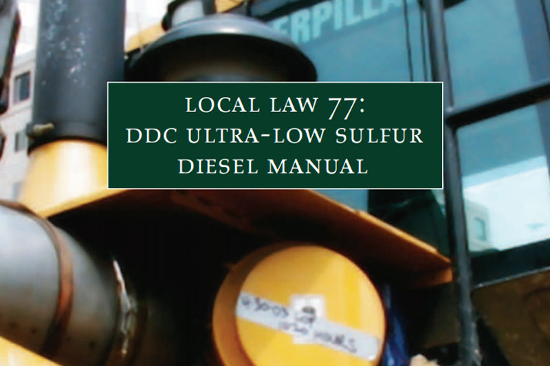 Cover for the Local Law 77 guide.