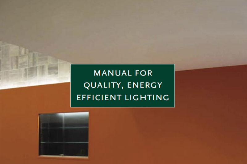 Cover for the Quality Energy Efficient Light Manual