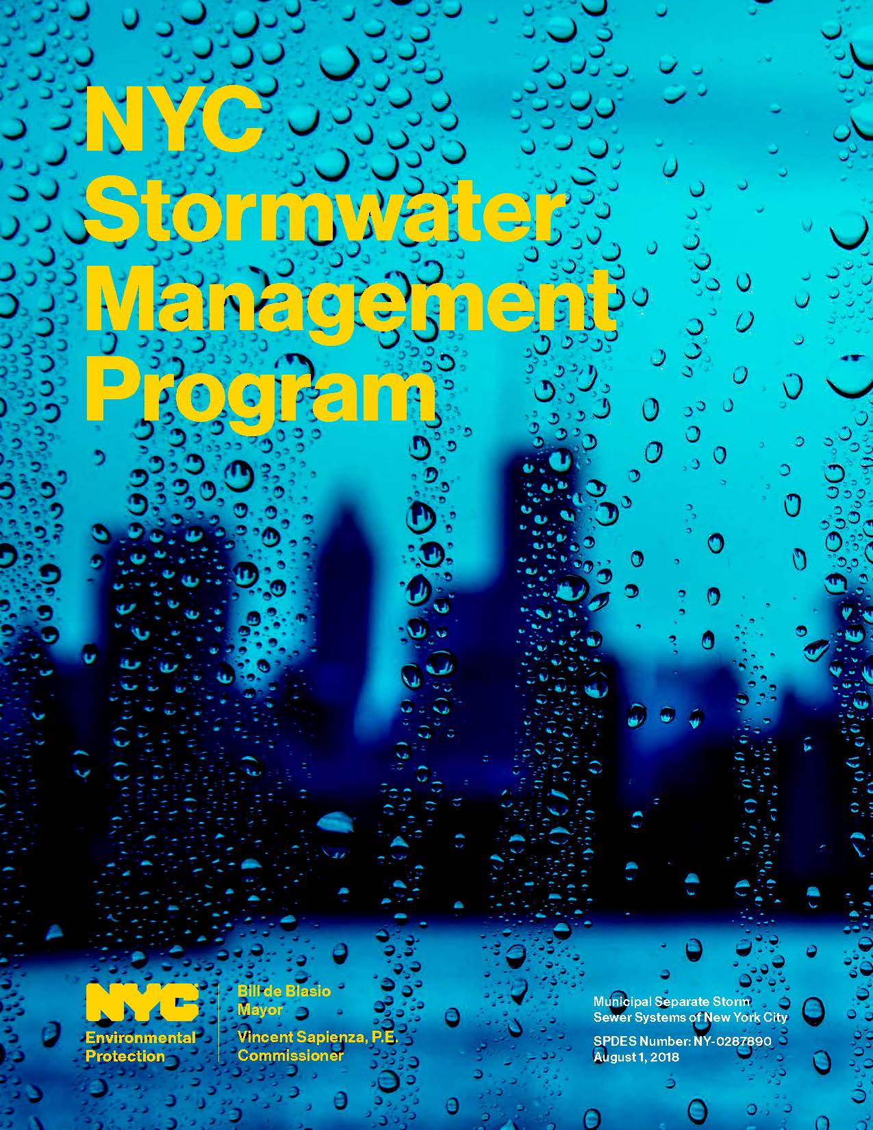 NYC Stormwater Management Plan Cover