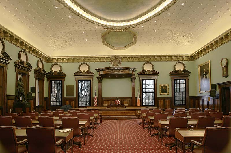 City Council Chamber, 2012