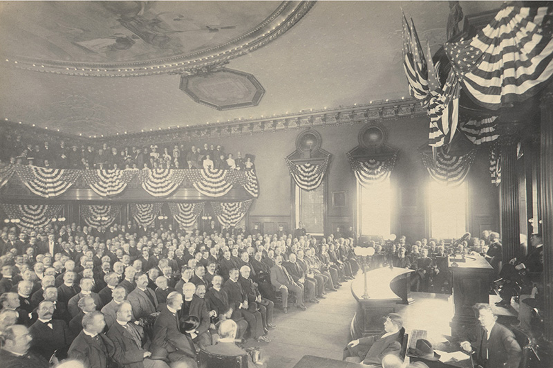 City Council Chamber, 1904
