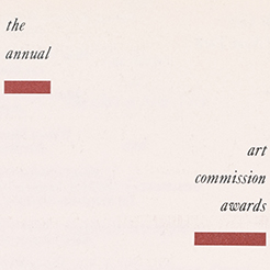 Annual Awards, 1987