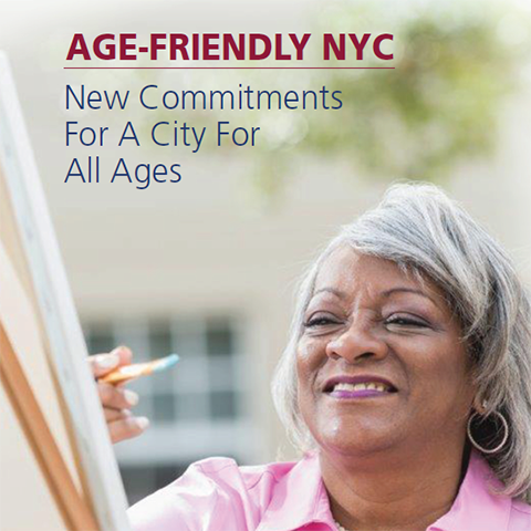 Report Cover for Age Friendly NYC 2017