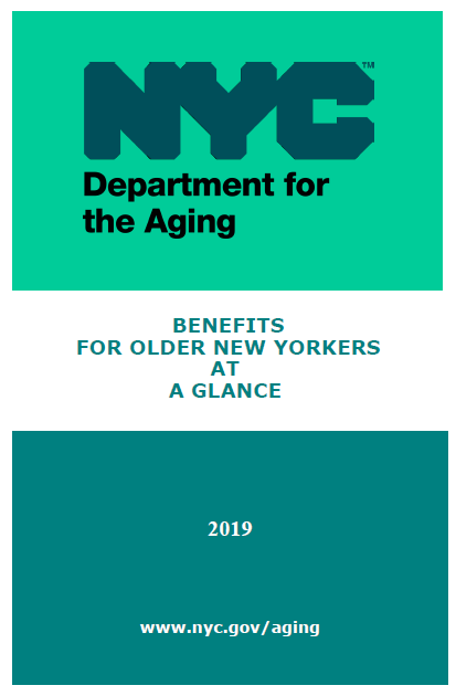 Benefits for Older New Yorker at a Glance
