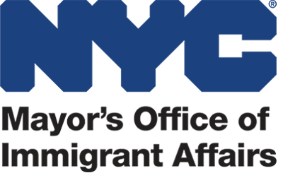 Logo for NYC Mayor's Office of Immigrant Affairs