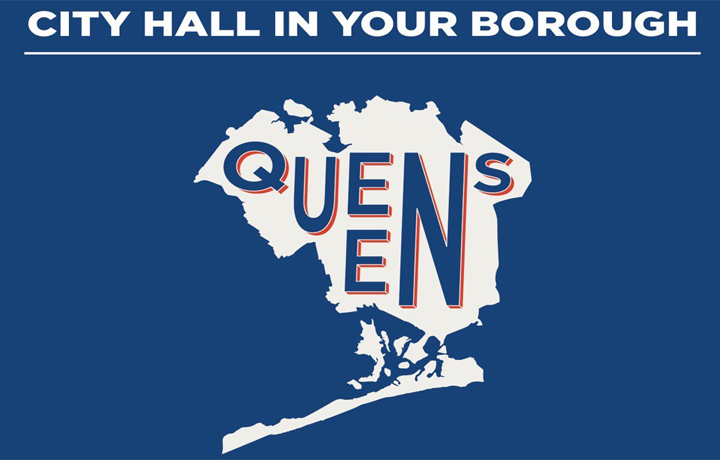 City hall in your borough - Queens