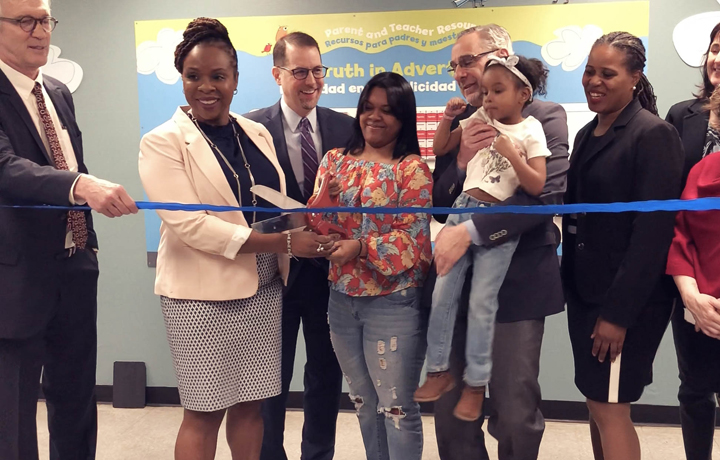 DHS Administrator Carter and CMOM launch a new Health and Learning Hub