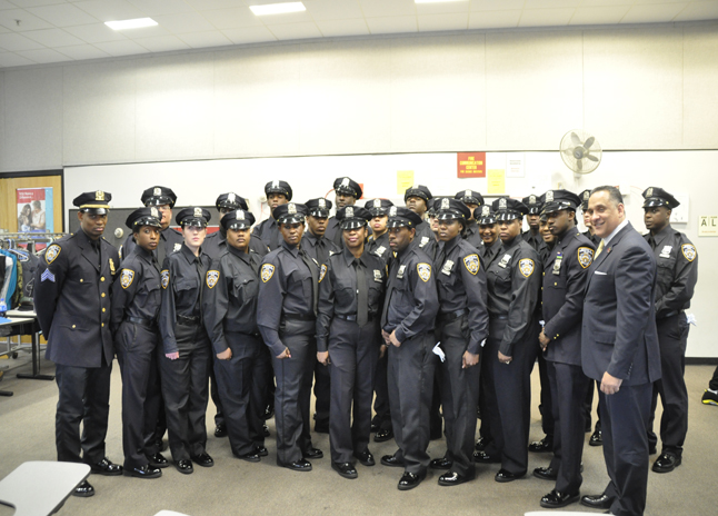 DHS - DHS Welcomes New Graduating Class of Peace Officers
