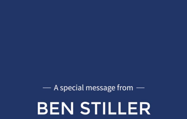 A Special Message from Ben Stiller about HOPE 2016