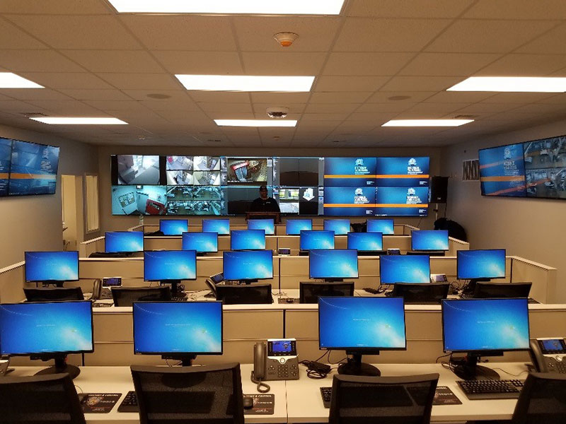 New Compliance and Safety Center CASC on Rikers Island
