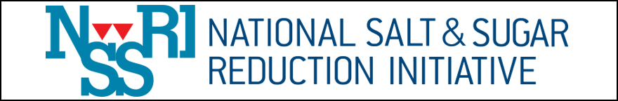 Text features the National Salt and Sugar Reduction Initiative logo